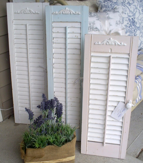 136 best images about Chippy shutters on Pinterest Brocante