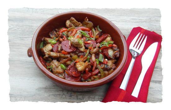 Ris d'agneau poêlés aux poivrons et au chorizo : la recette facile