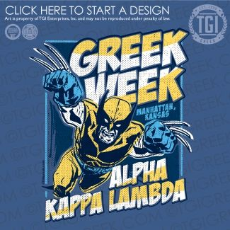 Alpha Kappa Lambda | ΑΚΛ | Greek Week | Greek Week Shirt | TGI Greek | Greek Apparel | Custom Apparel | Fraternity Tee Shirts | Fraternity T-shirts | Custom T-Shirts