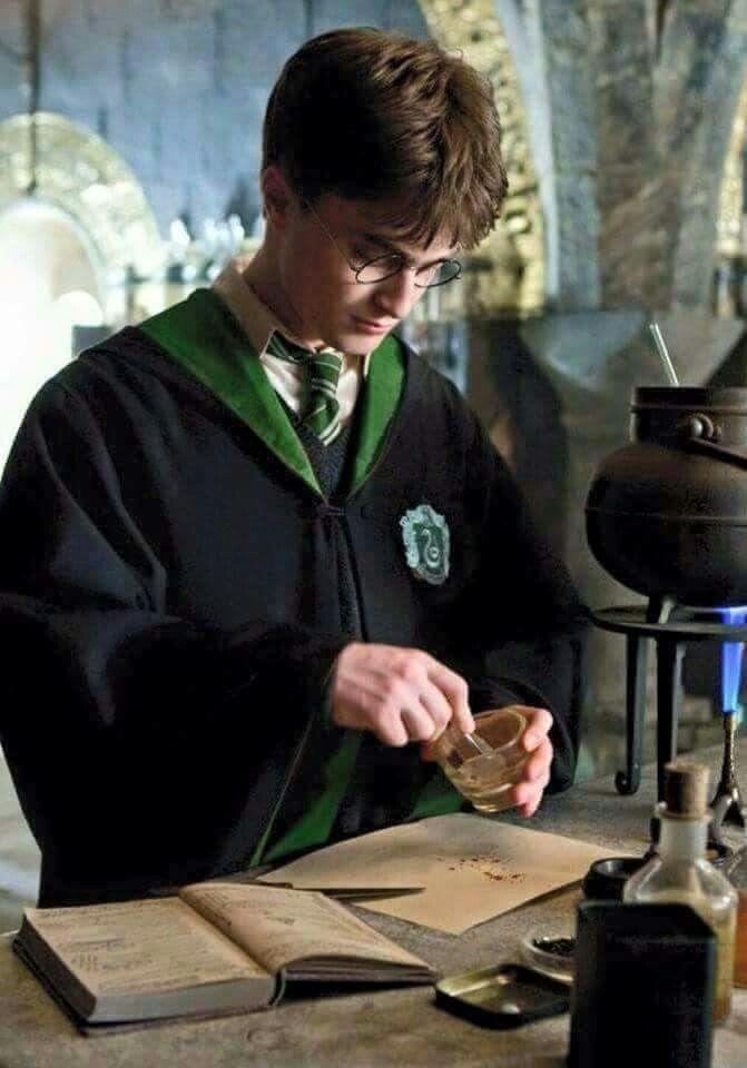 Harry en serpentard *^*