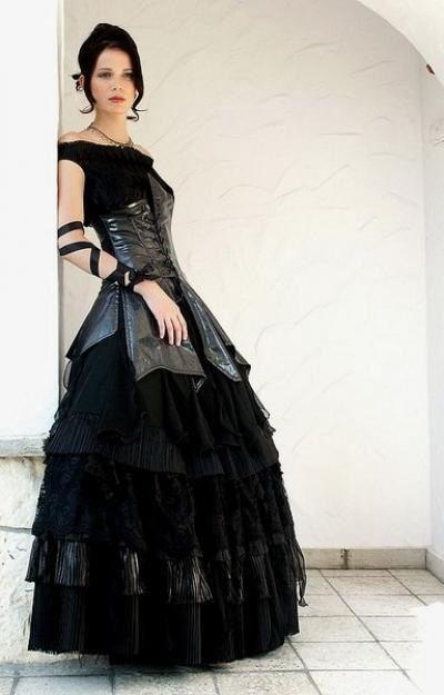 Siyah Gelinlik Modası