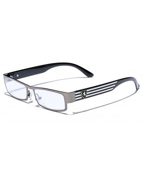 41197f9fb2d Rectangular Frame Women s Men s Designer Sunglasses Clear Lens RX ...