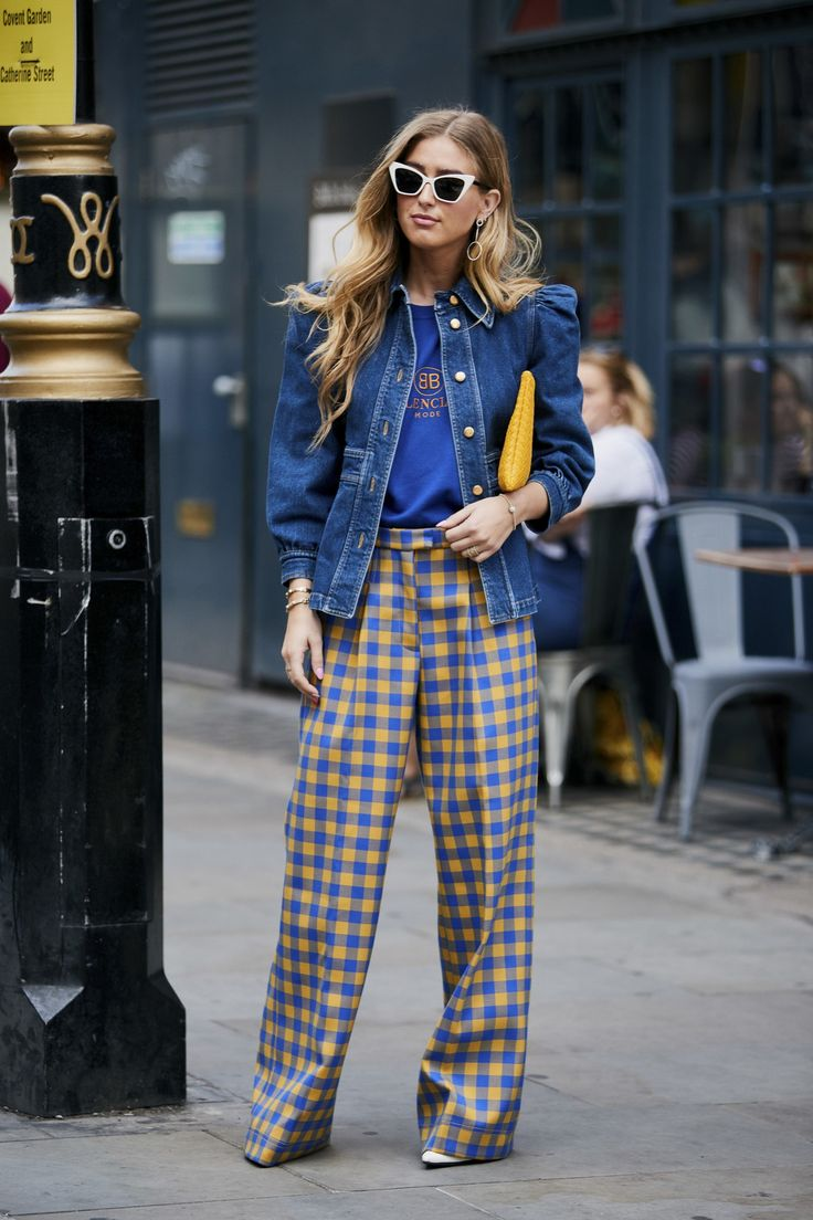 Wide funky trousers