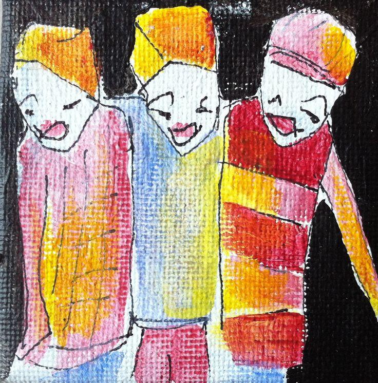 les amis en miniature -winzig-  2013
