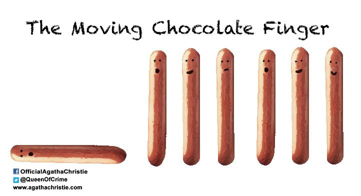 """The Moving Chocolate Finger"""