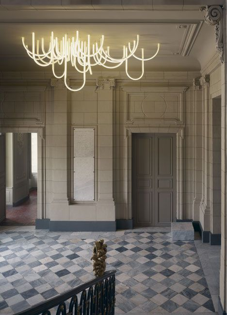 Les Cordes chandelier • Mathieu Lehanneur