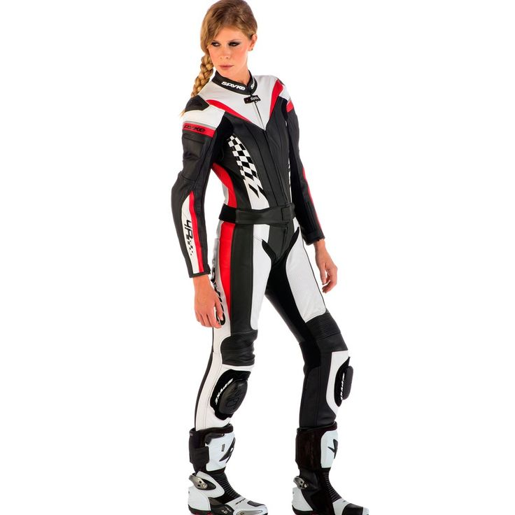 Spyke 4RACE DIV Leather Motorcycle Suits for Women
