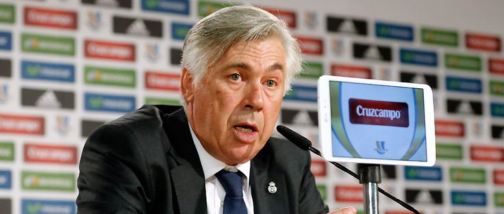 """We Hope El Real win the Supercup opa Ancelotti: """"We'll go to the Calderón to score goals and win the Supercup"""" :)"""