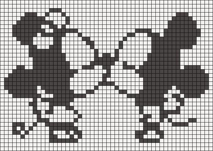 #CrossStitch Mickey | Das Leben ist wie eine Kinderüberraschung