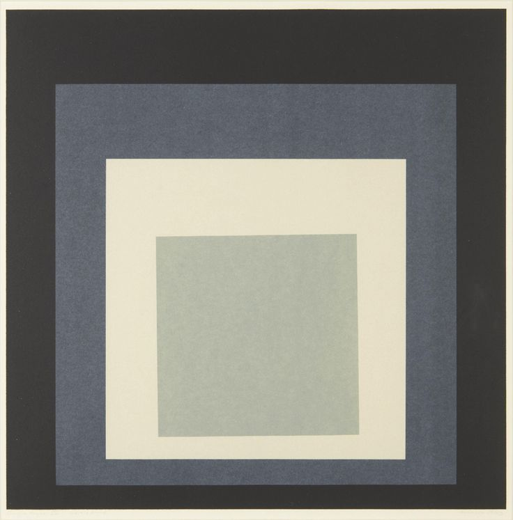 JOSEF ALBERS Day and Night: Homage to the Square portfolio: plate VIII, 1963 Lithograph in colors, on wove paper, with full margins,  I. 15 3/4 x 15 3/4 in. (40 x 40 cm); S. 18 7/8 x 20 1/2 in. (47.9 x 52.1 cm) annotated 'artist's proof' (aside from the edition of 20), published by Tamarind Lithography Workshop, Los Angeles