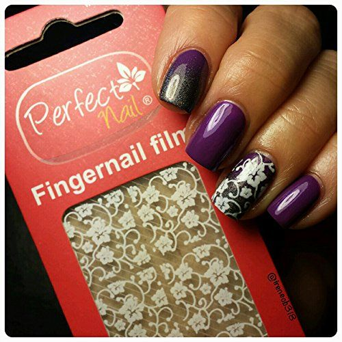 Perfect Nail  A Nail Art Gel Film that Melts onto Polish  Polar Hibiscus *** Read more reviews of the product by visiting the link on the image. Note:It is Affiliate Link to Amazon.
