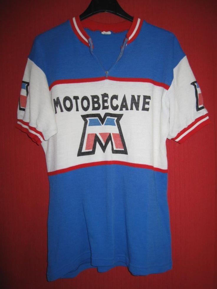 Maillot Cycliste Vintage Motobecane 70'S Ancien Tour DE France M   eBay
