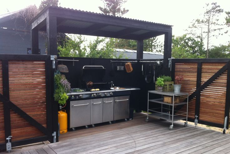 Outdoor kitchen by 1:1RUM&DeSIGn