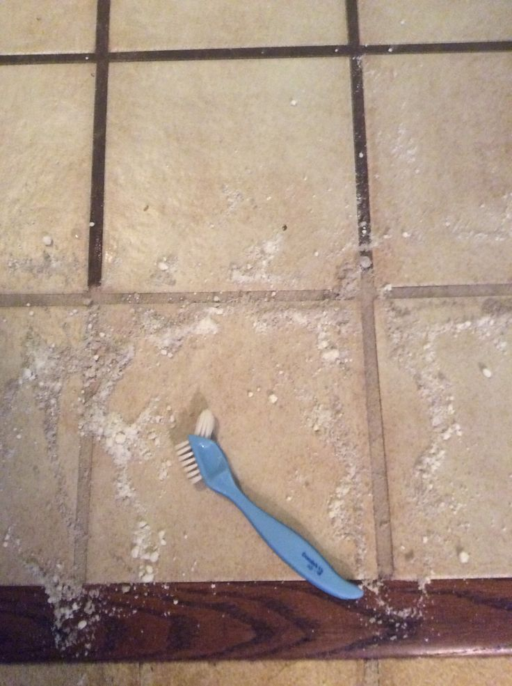 how to clean grout with resolve