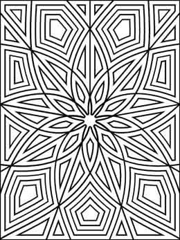Geometrip.com - Free Geometric Coloring Designs - Rectangles