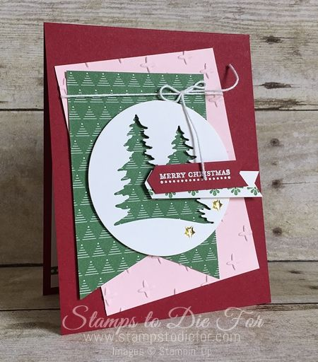 Cardfront Builder Thinlit by Stampin' Up! www.stampstodiefor.com Christmas Card