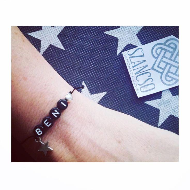 Handmade personal bracelet