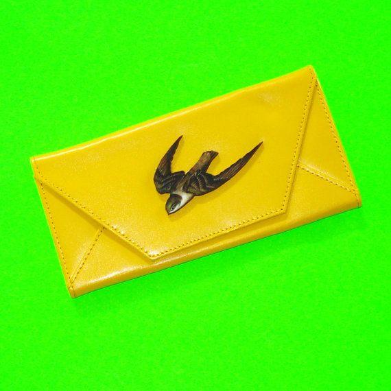 Chimney Swift Wallet  https://www.etsy.com/ca/listing/279874506/soaring-bird-chimney-swift-swallow