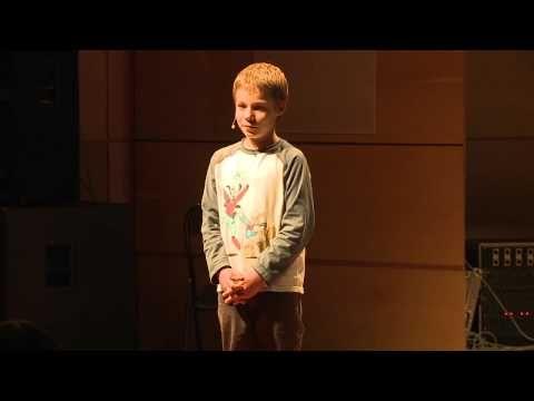 """""""Why I love bugs"""" - Mikołaj Szewczyk – przedstawia życie żuków w swoim wystąpieniu na TEDxKids@Kraków"""