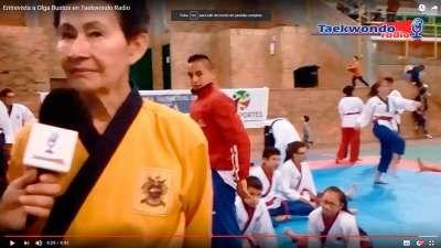 Entrevista a la deportista Olga Bustos medalla de Oro Mundial en Perú 2016 en la modalidad de Poomsae