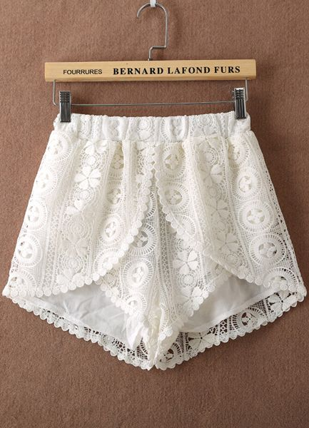 ... out of lace curtains on Pinterest | Lace, Lace Insert and Lace Shorts