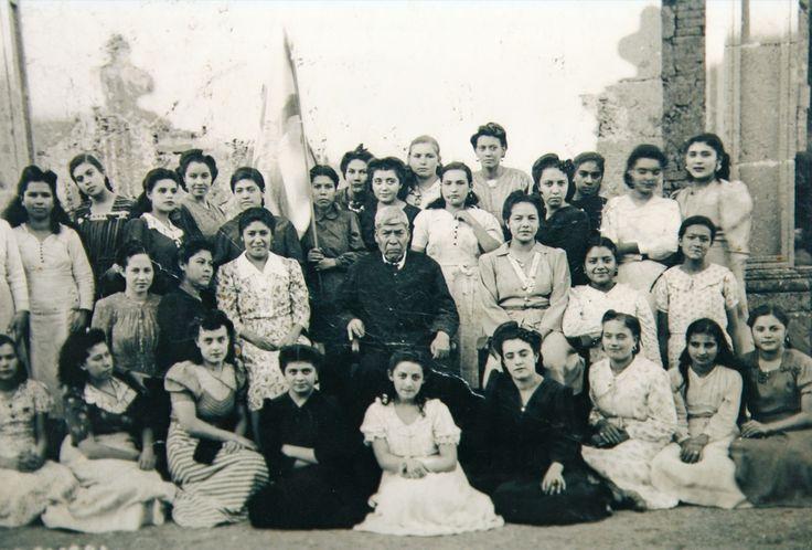 Grupo de la Acción Católica de  Atenguillo