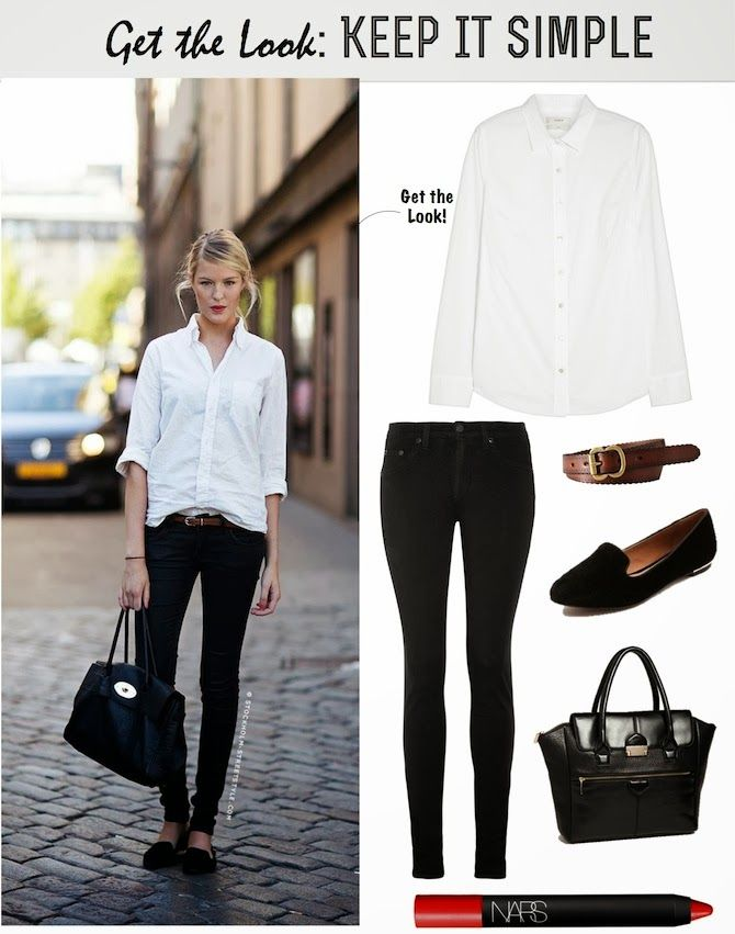 Get the Look: Keep It Simple