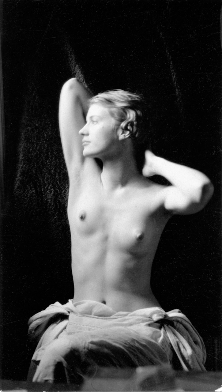Lee Miller was at home in front of and behind the camera. She began modelling at 19 in New York, posing for, among others, the great Edward Steichen. At 22, she began working as an assistant to Man Ray in Paris, becoming his lover, creative collaborator and muse. Picasso painted five portraits of her.