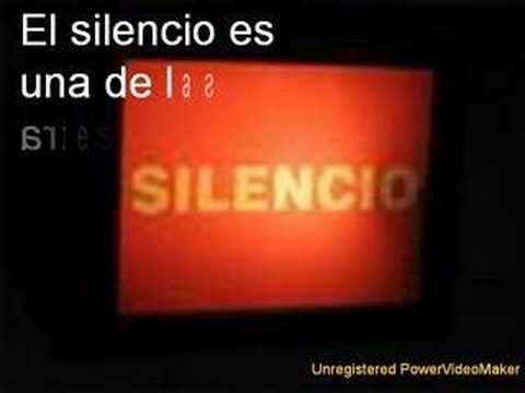 Sonido del silencio, música andina, si lo que vas a decir supera el silencio.......