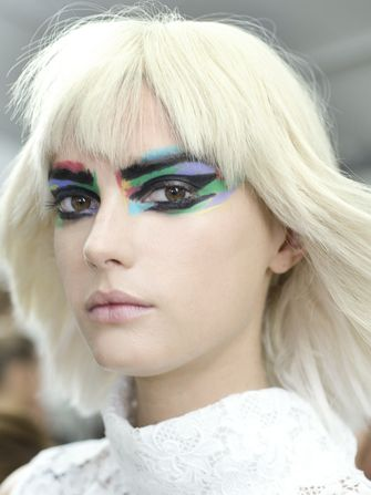 Chanel amaze eyes Chanel S/S2014 Paris Fashion Week