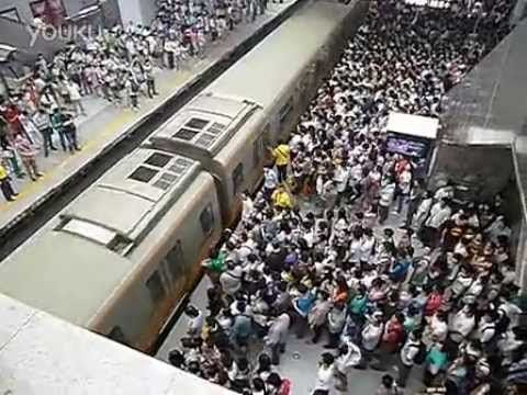 """One thing is for sure, if I ever go to Beijing (or anywhere with this kind of overcrowded public transport), I will take the taxi. :) --> """"Beijing Subway, Line 13, morning rush hour - just a little crowded""""  -- video by BeijingCream"""