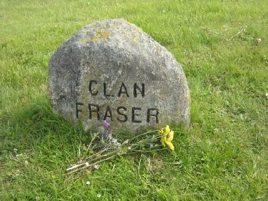 Grave marker, at Culloden, of Clan Fraser