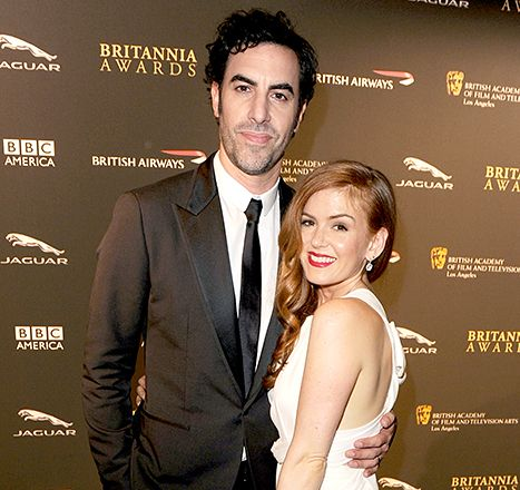Isla Fisher Welcomes Third Child With Sacha Baron Cohen - Us Weekly