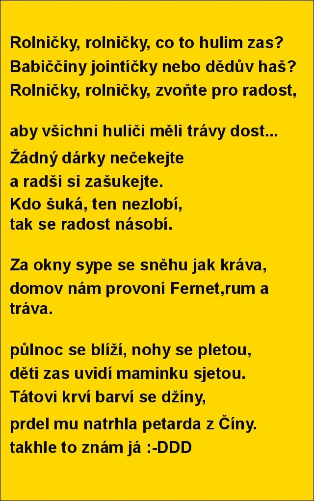 Rolničky, rolničky, co to hulim zas? | torpeda.cz - vtipné obrázky, vtipy a videa