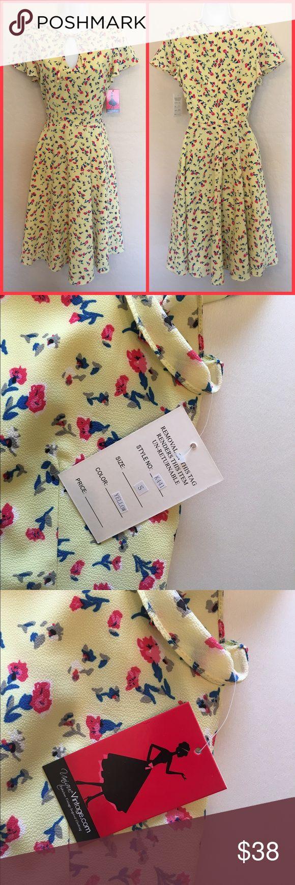 Farouk turbo inch ceramic flat iron p 46 - Unique Vintage Yellow Floral Dress Nwt