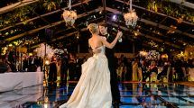 Top 15 decorações para pista de dança em casamento