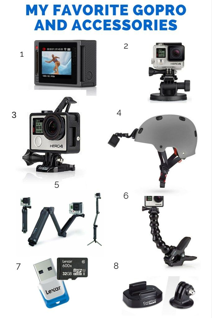 My favorite #GoPro camera and accessories to use for travel