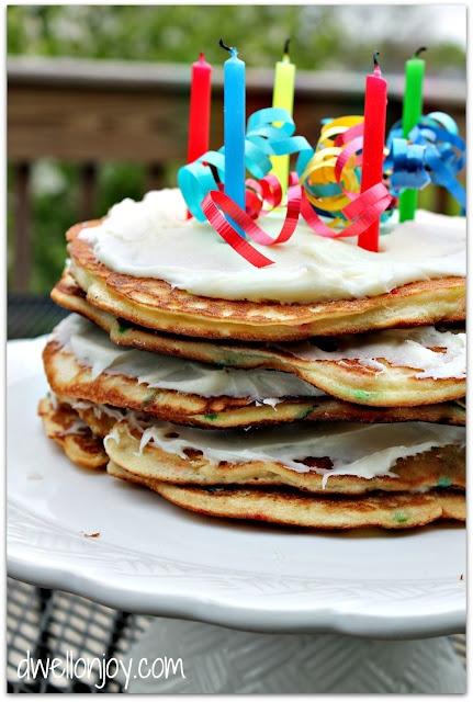 pancake cake #kids #party #birthday