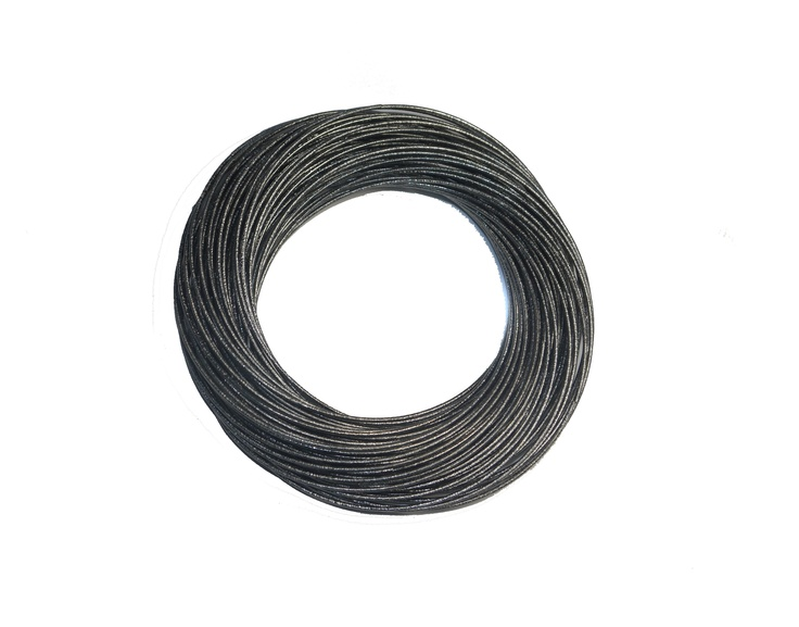 Sam Ubhi Costume Collection Gunmetal Black Slinky Bracelet