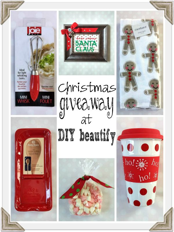 merry little christmas giveaway at www.diybeautify.com