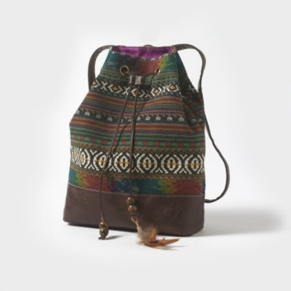 Hippie Backpack. Love this.