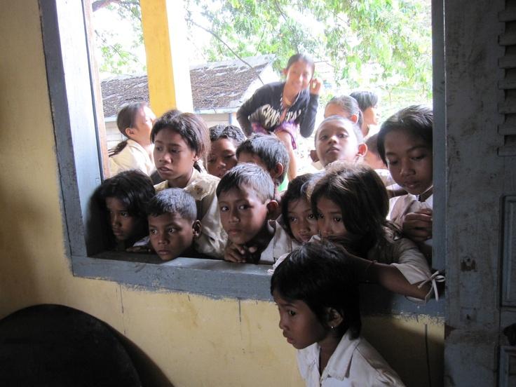 Blick in das Klassenzimmer
