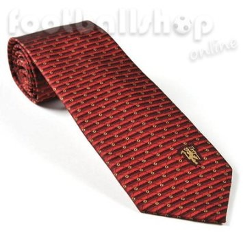 £9.99 Manchester United Tie Red Stripes Gold Squares & Devil: Amazon.co.uk: Garden & Outdoors