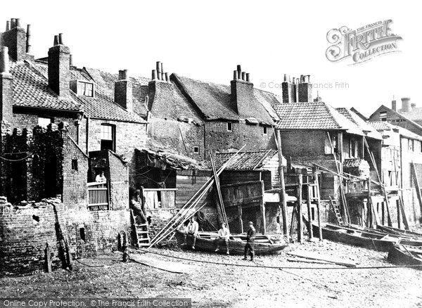 London, Lambeth Riverside c.1880 #London #VictorianLondon #Lambeth