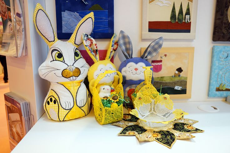 Our theme for the #SewingForPleasure show was #Easter :)  http://www.brothersewing.co.uk/en_GB/