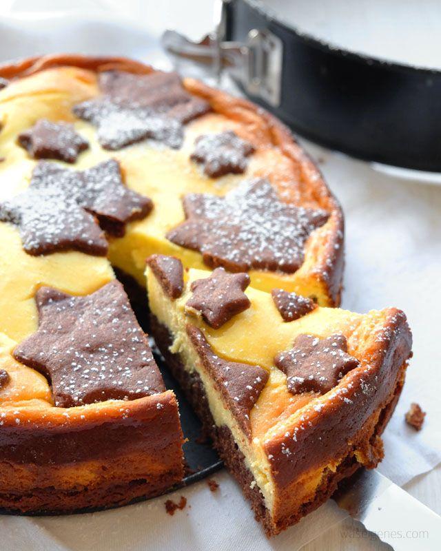 Rezept: Russischer Zupfkuchen | Sternekuchen | Weihnachtensbäckerei | cake recipe | christmas | Käsekuchen | waseigenes.com