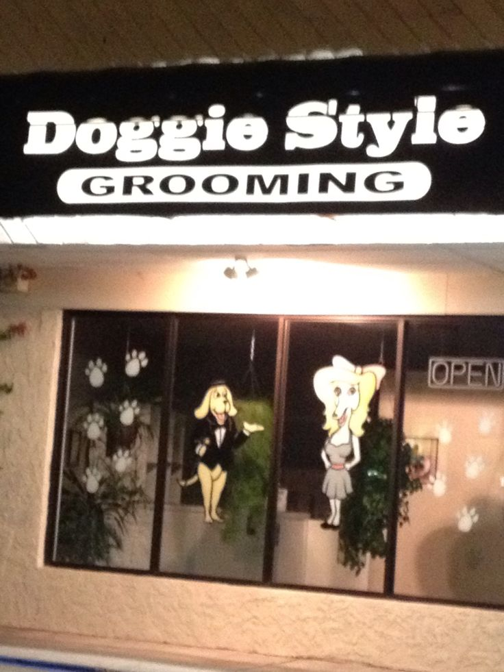 Best name ever for a pet grooming salon!!