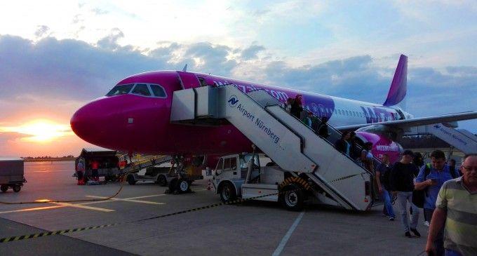 (Video) Bucuresti – Nürnberg cu Wizz Air – aterizarea la Nürnberg