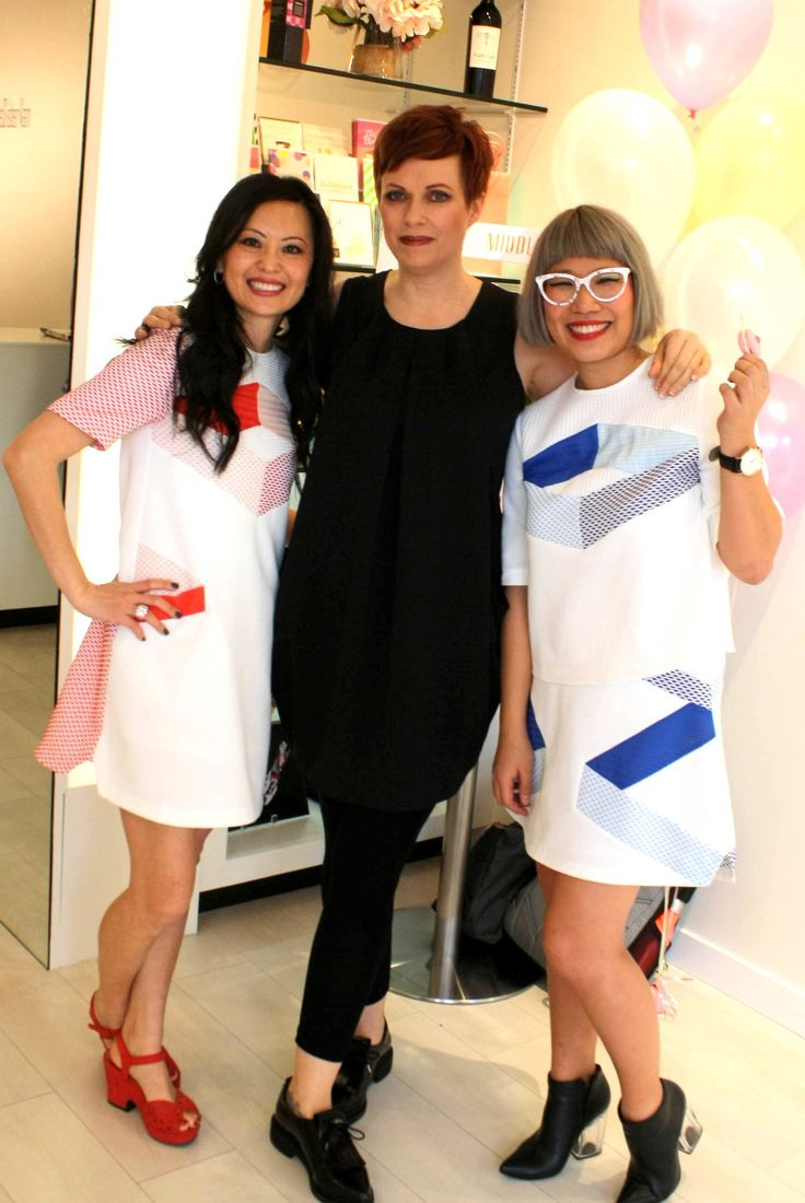 Middle Sister Boutique welcomed style and fashion lovers, bloggers and television personalities to celebrate the arrival of the spring season with fresh new collections from Korea's Ti:baeg and LIE (Love. Identity. Ego), and Vancouver-based MEZZI.