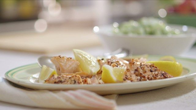 Saumon aux épices à steak | Cuisine futée, parents pressés